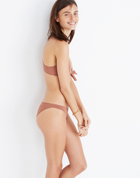 Solid & Striped® Elle Bikini Bottom in mocha image 3