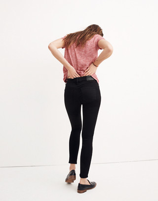 """Petite 8"""" Skinny Jeans in Carbondale Wash in carbondale wash image 2"""
