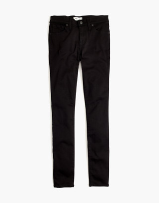 """Petite 8"""" Skinny Jeans in Carbondale Wash in carbondale wash image 4"""
