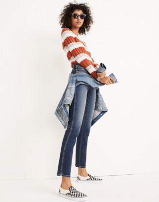 Petite Slim Straight Jeans in Hammond Wash