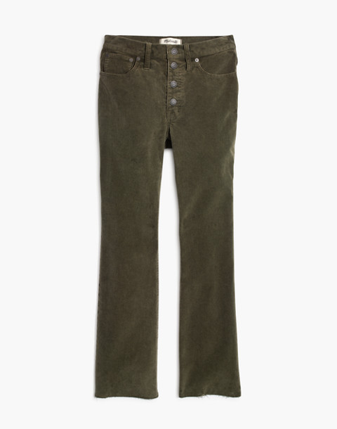 Cali Demi-Boot Jeans: Corduroy Edition in capers image 4