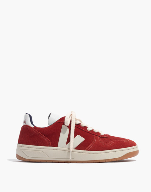 Veja™ V-10 Sneakers in Suede in rouille pierre image 2