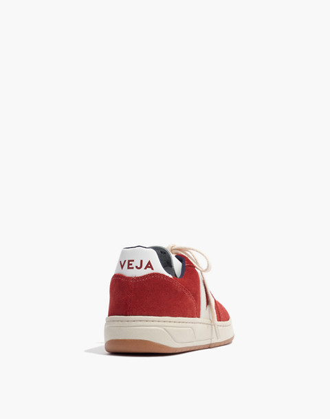 Veja™ V-10 Sneakers in Suede in rouille pierre image 3