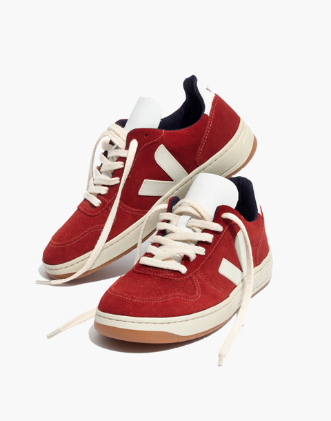 Veja™ V-10 Sneakers in Suede in rouille pierre image 1