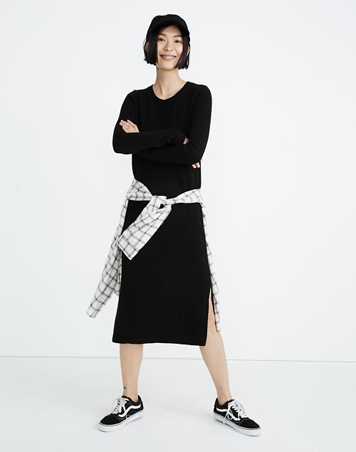 87ad8359c07 Midi Sweater-Dress