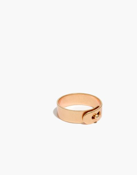 Glider Ring in vintage gold image 1