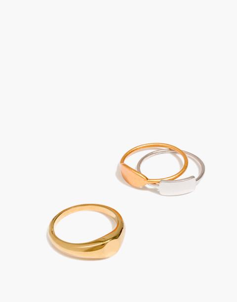 Signet Ring Set