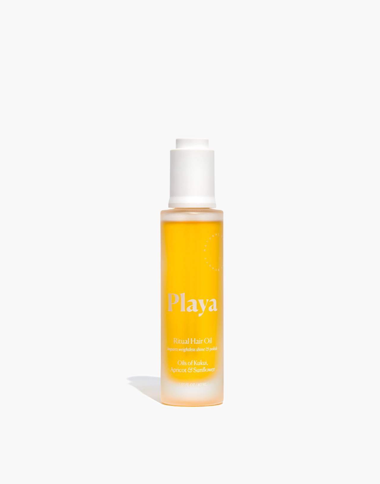 Playa Ritual Hair Oil in apricot and sunflower image 1