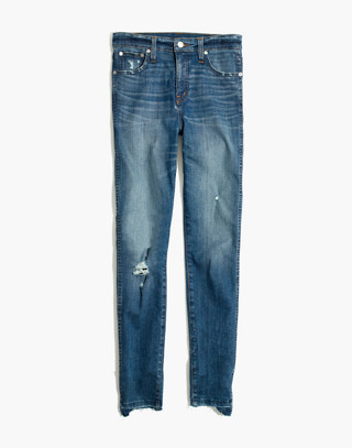 "10"" High-Rise Skinny Jeans: Drop Step-Hem Edition in everton image 4"