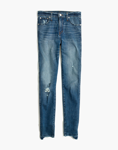 "Petite 10"" High-Rise Skinny Jeans: Drop Step-Hem Edition in everton image 4"