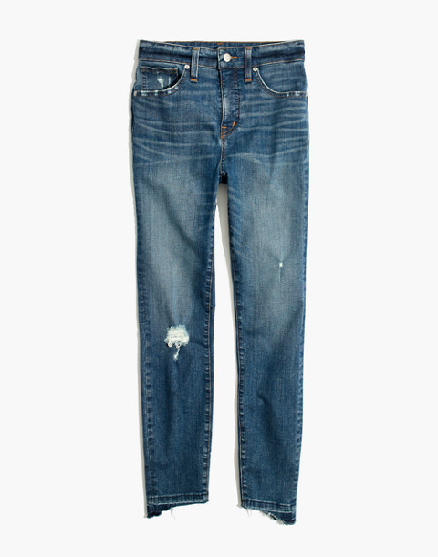 Taller Curvy High-Rise Skinny Jeans: Drop Step-Hem Edition