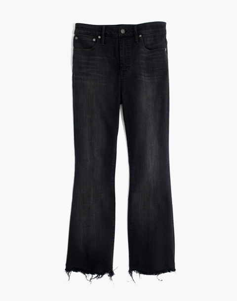 Tall Curvy Cali Demi-Boot Jeans in Berkeley Black: Chewed-Hem Edition in berkeley wash image 4