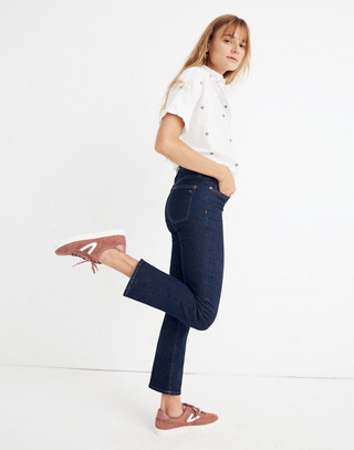 Petite Cali Demi-Boot Jeans in Lucille Wash in lucille wash image 2