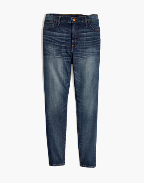 High-Rise Skinny Jeans: Adjustable Edition (Sizes 33-37) in springlake wash image 4
