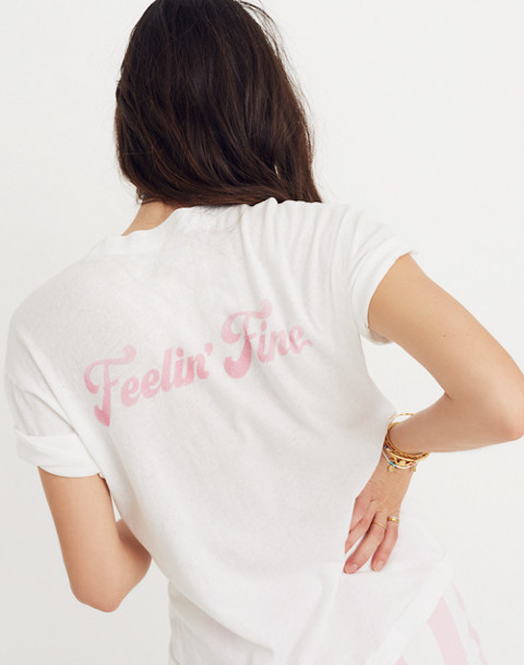 Rivet & Thread Feelin' Great Feelin' Fine Graphic Tee
