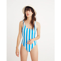 Solid & Striped® Anne-Marie One-Piece Swimsuit in Sea Stripe