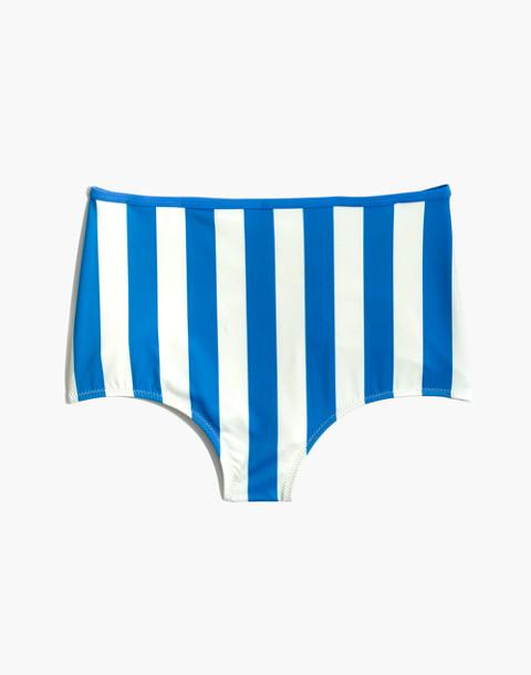 Solid & Striped® Brigitte Bikini Bottom in Sea Stripe in sea stripe image 4