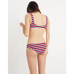 Solid & Striped® Elle Bikini Bottom in American Stripe