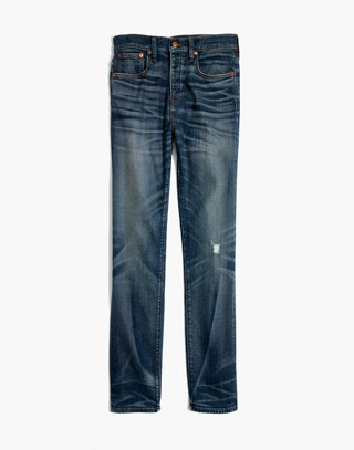 Rivet & Thread Straight Jeans in Buckthorn: Selvedge Edition in buckthorn wash image 4