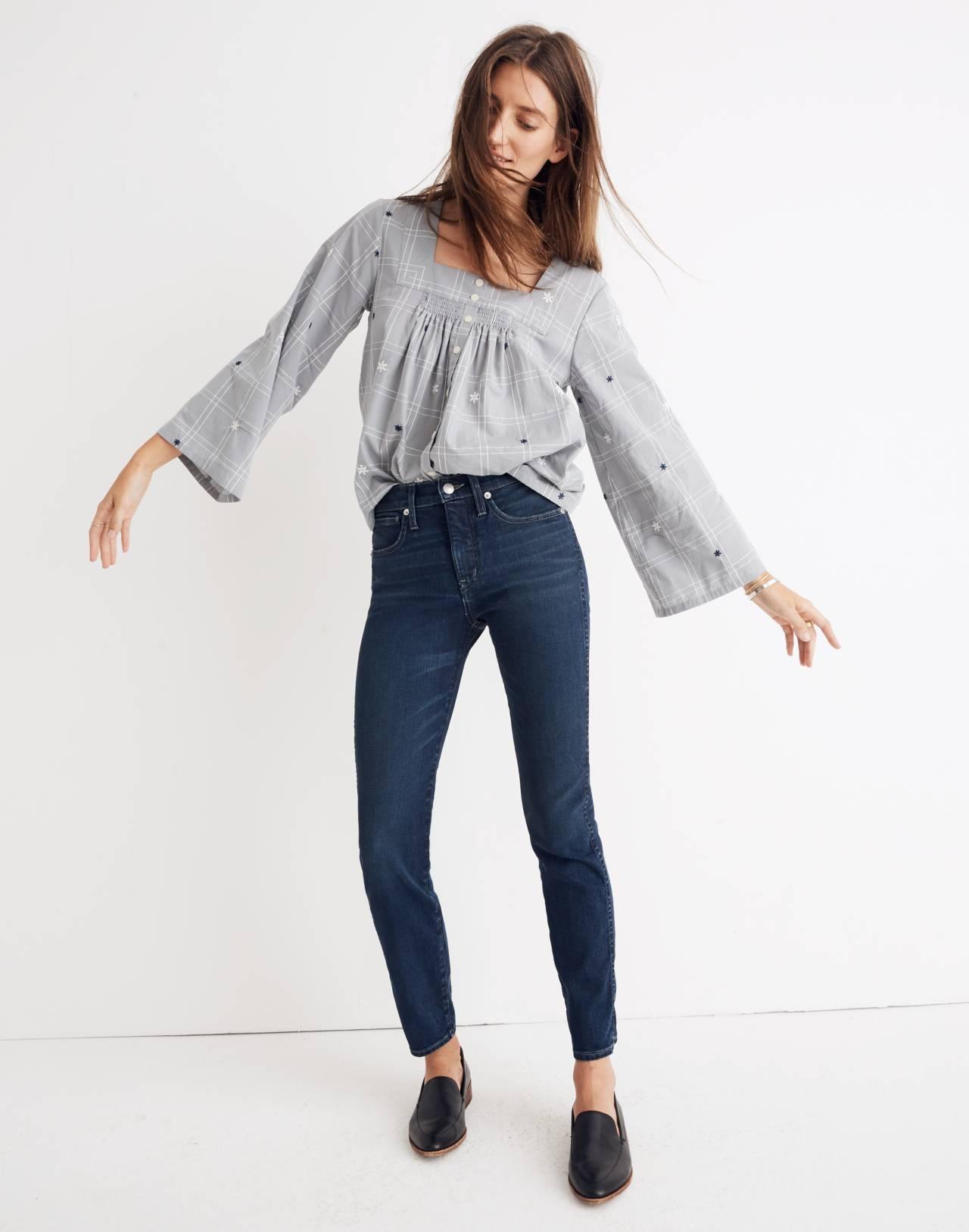 Rivet & Thread Slim Straight Jeans in Richardson Wash in richardson wash image 1