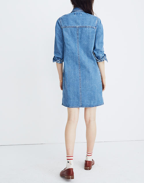 89bf01c6647 Denim Shirtdress in Albury Wash