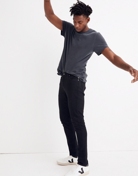 Skinny Jeans in Saturated Black Wash in black image 2