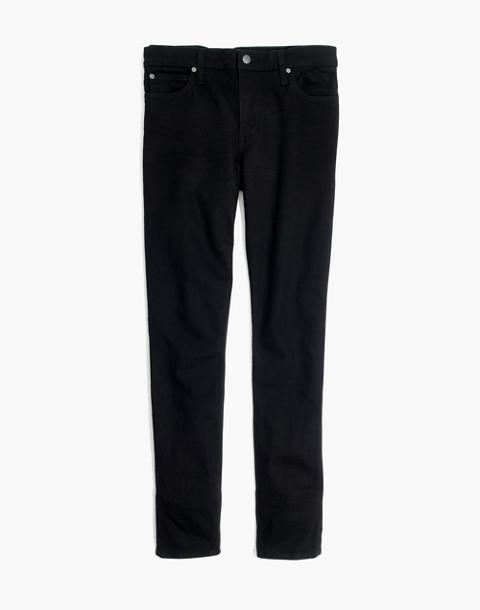 Skinny Jeans in Saturated Black Wash in black image 4