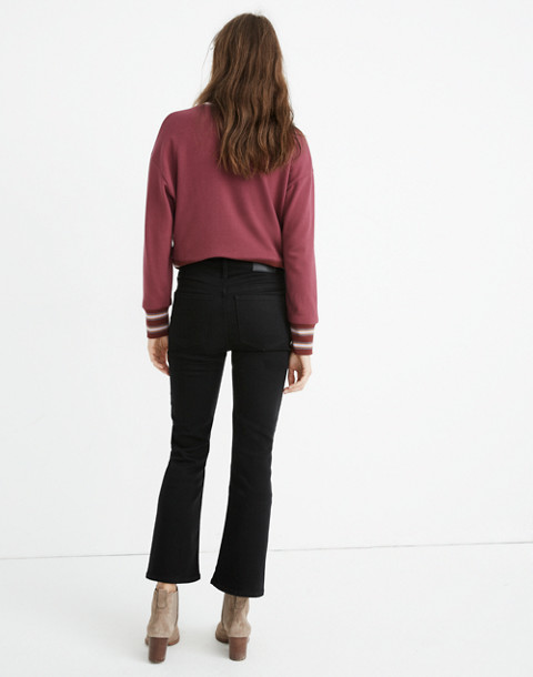 Petite Cali Demi-Boot Jeans in Black Frost: Tencel™ Edition in black frost image 3