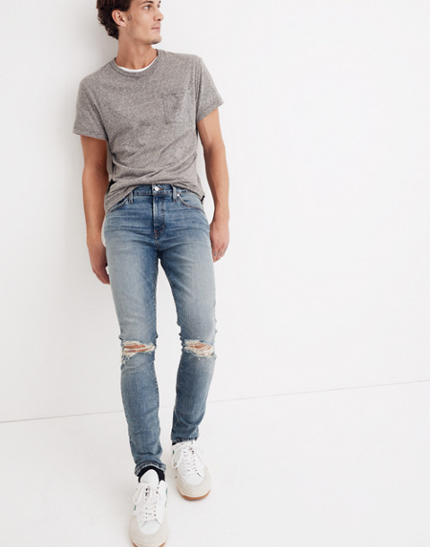 Skinny Jeans In Vintage Light: Ripped Edition by Madewell