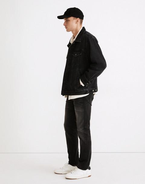 Slim Jeans in Washed Black in everton image 2
