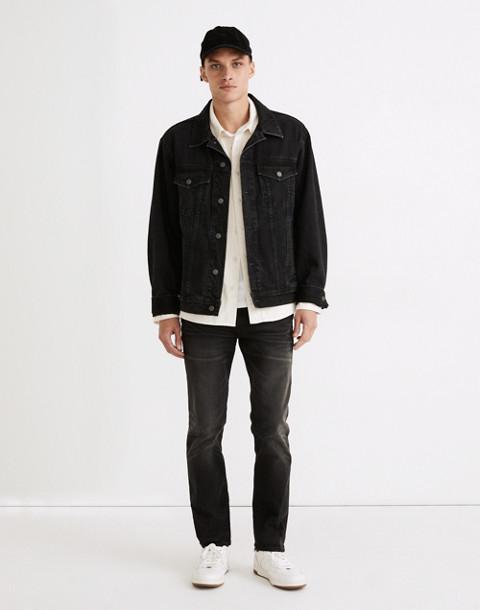 Slim Jeans in Washed Black in everton image 1