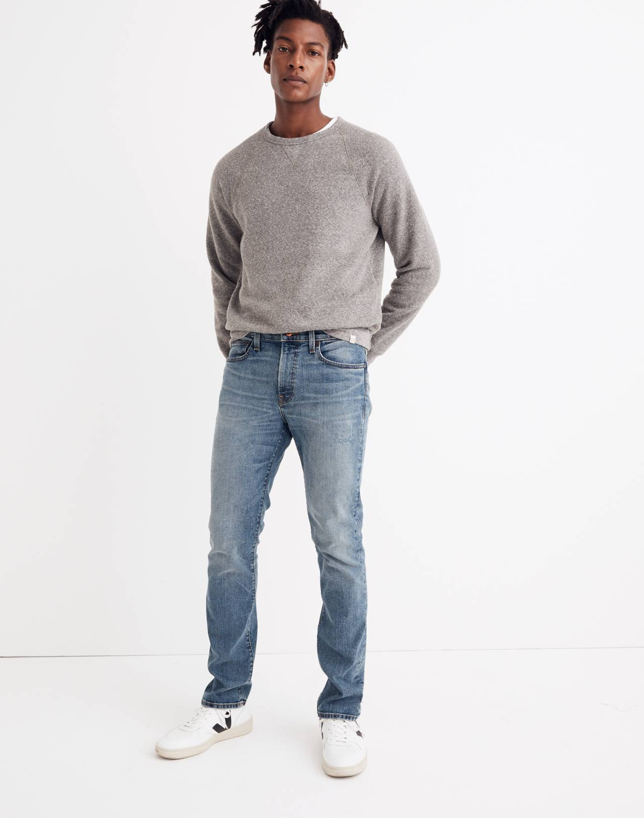 Slim Jeans in Santell Wash in santell image 2
