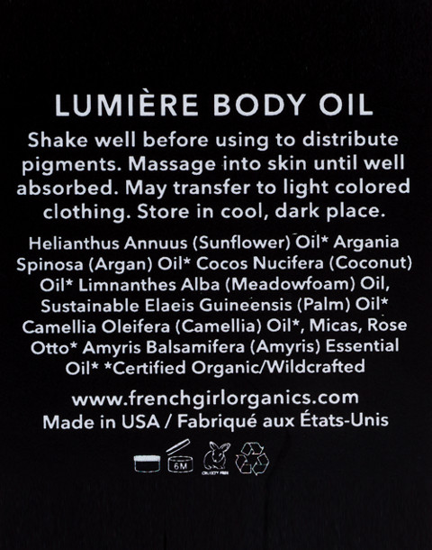 French Girl™ Lumière Body Oil in Rose Dorée in rose doree image 2