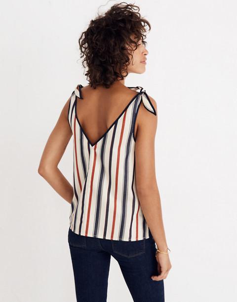 Tie-Strap Top in Ace Stripe in ace stripe image 3