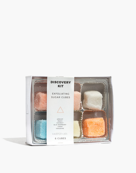 Harper + Ari™ Exfoliating Sugar Cubes Discovery Kit in gift box image 1