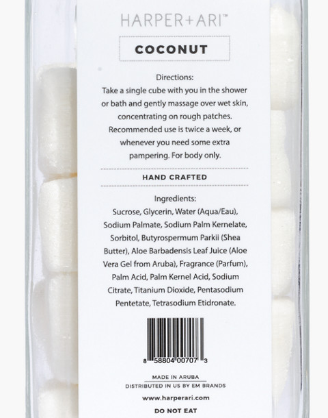 Harper + Ari™ Exfoliating Sugar Cubes in coconut image 3