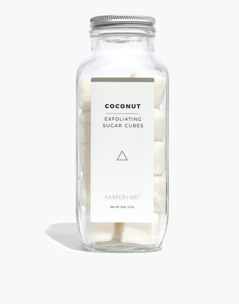 Harper + Ari™ Exfoliating Sugar Cubes in coconut image 1