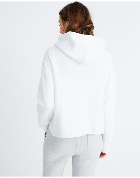 Champion® Maxi Hoodie Sweatshirt in white champion image 3