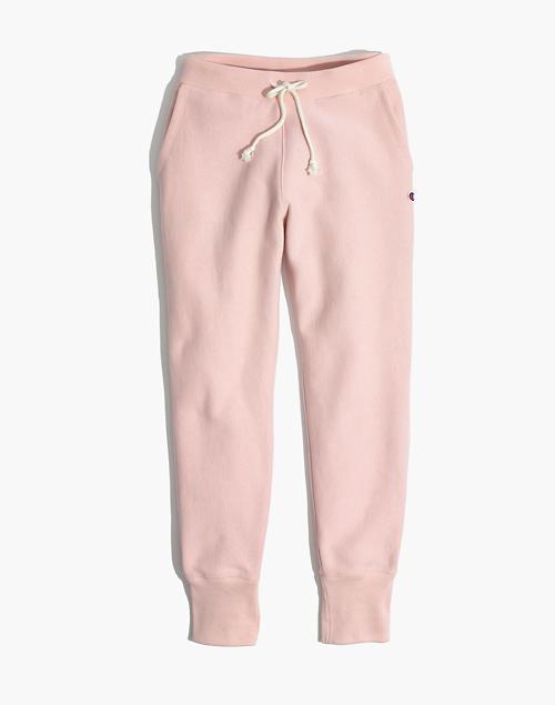 9d944a1554ae Champion reg  Rib Cuff Sweatpants in pink champion ...