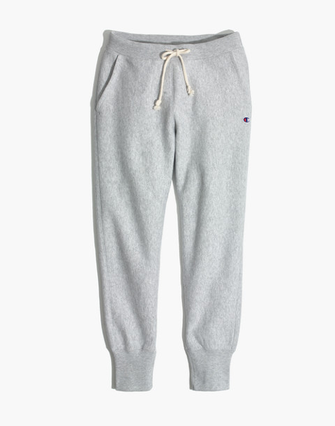 Champion® Rib Cuff Sweatpants in grey champion image 4