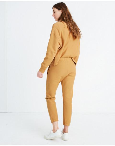 Champion® Elastic Cuff Sweatpants in brown champion image 3
