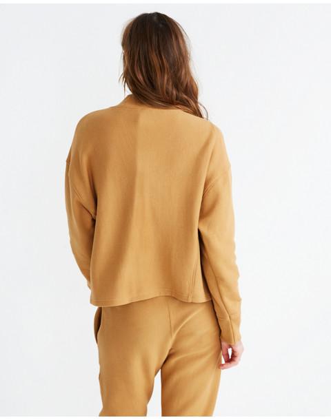 Champion® High-Neck Sweatshirt in brown champion image 3
