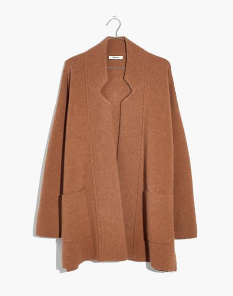 Spencer Sweater-Coat in hthr caramel image 4