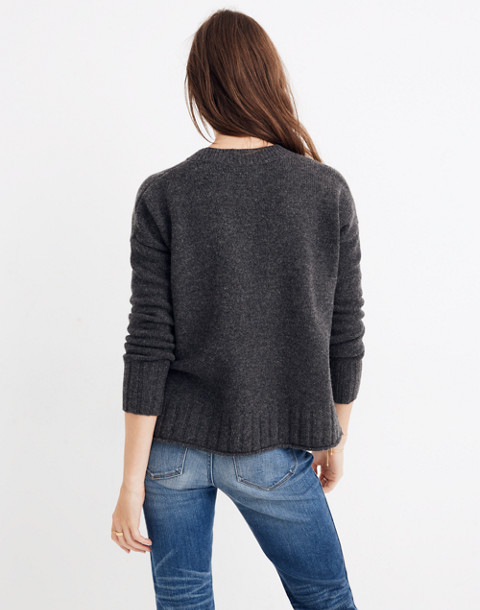 Starry Night Pullover Sweater in hthr carbon image 3