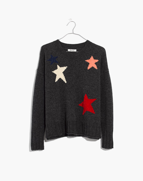Starry Night Pullover Sweater in hthr carbon image 4