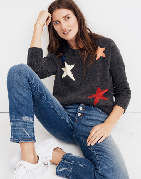 Starry Night Pullover Sweater in hthr carbon image 1