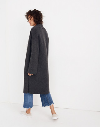 Rivington Sweater-Coat in hthr charcoal image 3