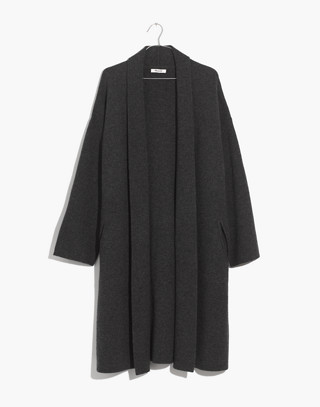 Rivington Sweater-Coat in hthr charcoal image 4