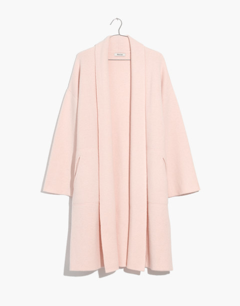 Rivington Sweater-Coat in heather peony image 4