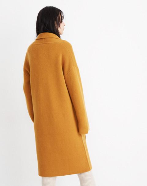 Rivington Sweater-Coat in ochre image 2